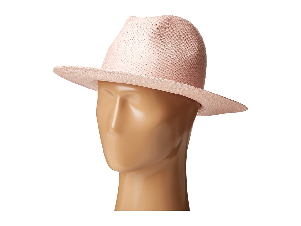 Hat Attack - Panama Continental (Pale Pink) Traditional Hats