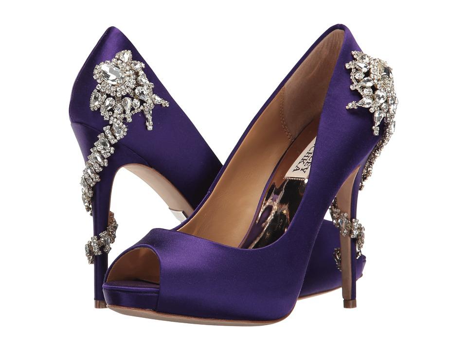 Badgley Mischka - Royal (African Violet Satin) High Heels
