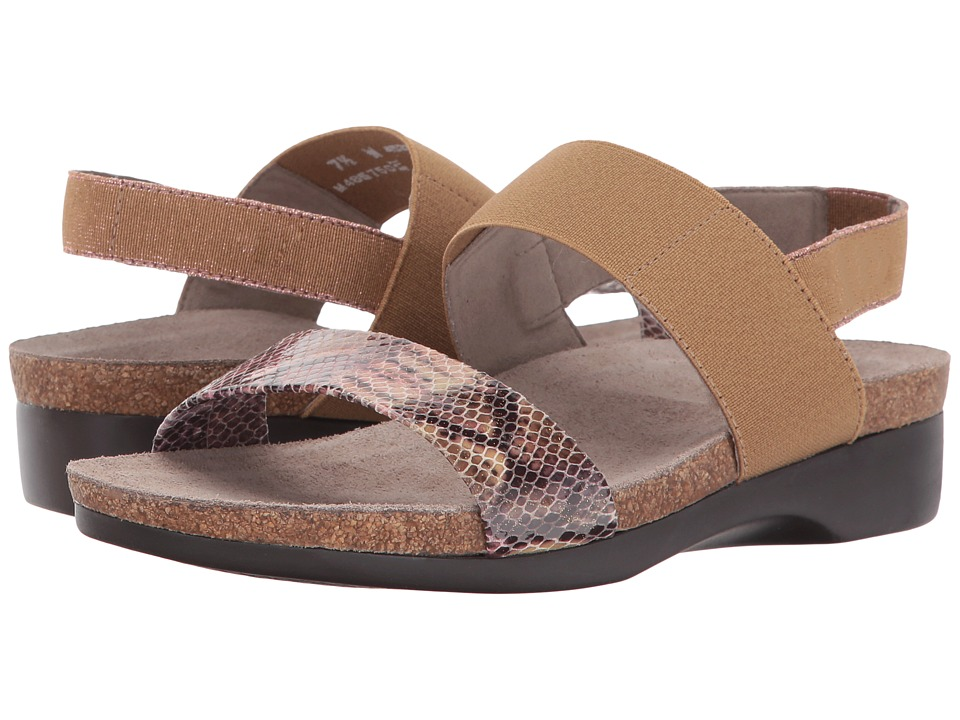 Munro - Pisces (Rose Multi Snake) Women's Sandals