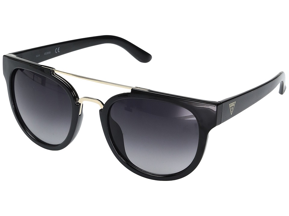 GUESS - GF0315 (Black/Gradient Smoke Lens) Fashion Sunglasses