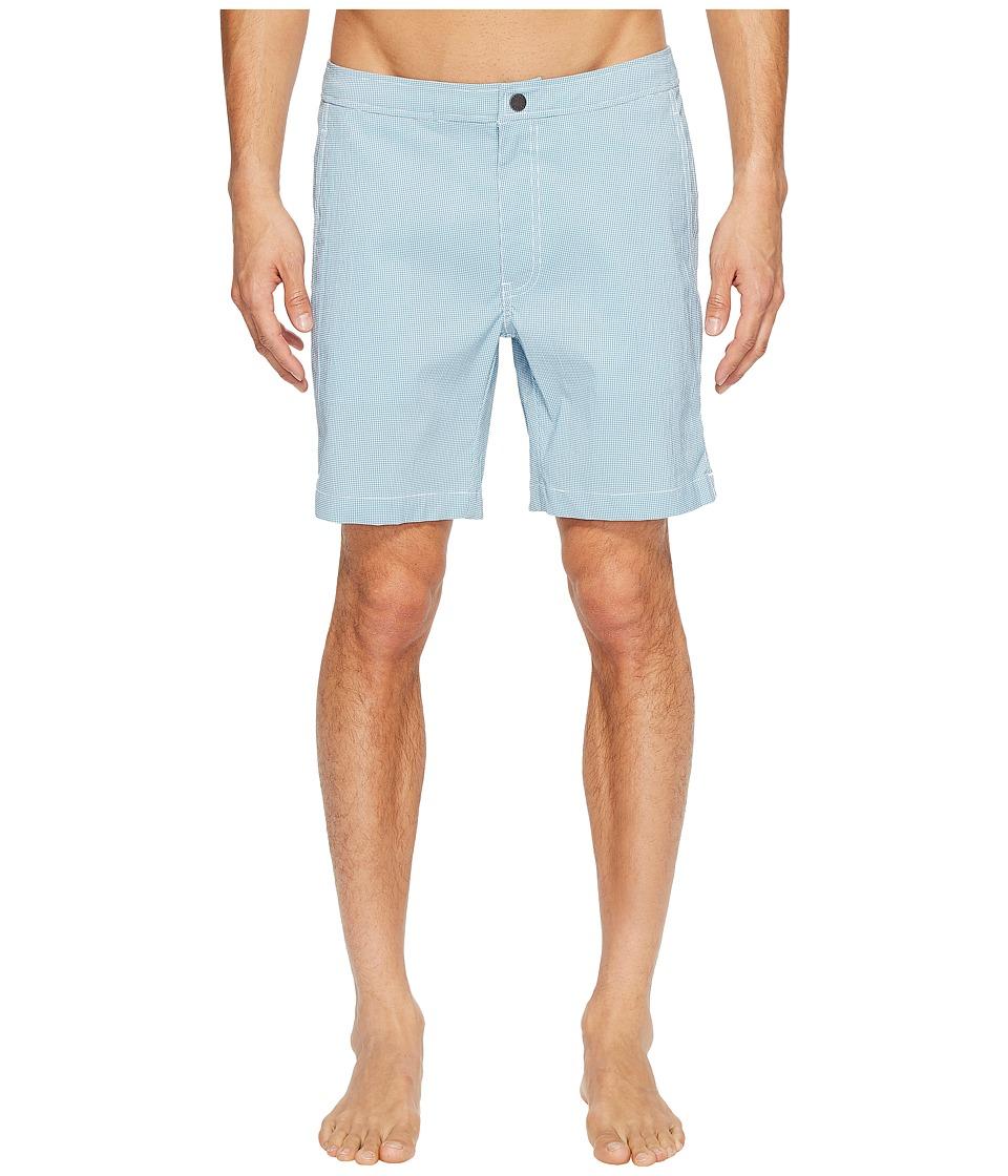 onia - Calder 10 (Agave/White) Men's Swimwear