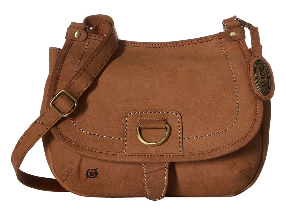Born - Zephyr Flap Saddle Bag (Saddle) Handbags
