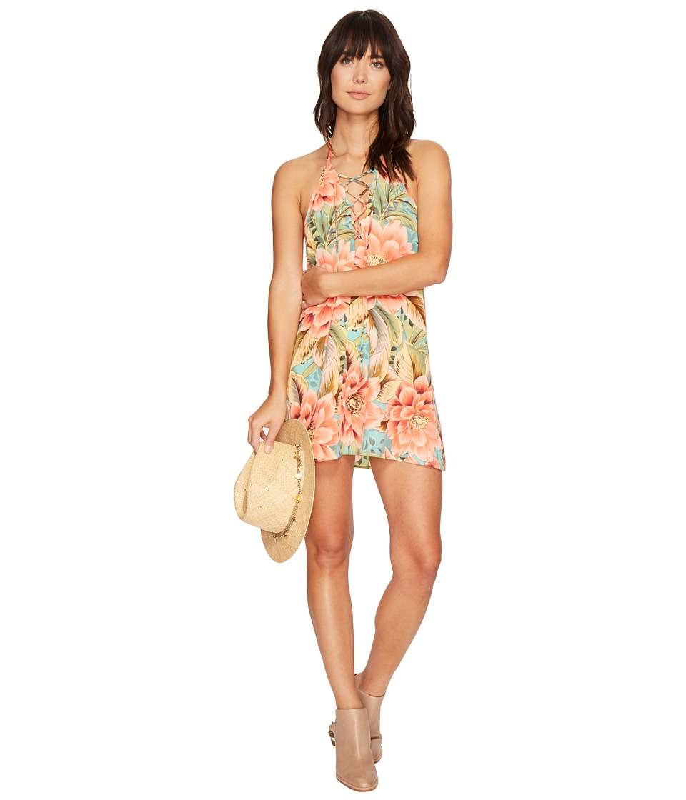 Show Me Your Mumu - Lo Lace-Up Mini Dress (Jonny and The Band) Women's Dress