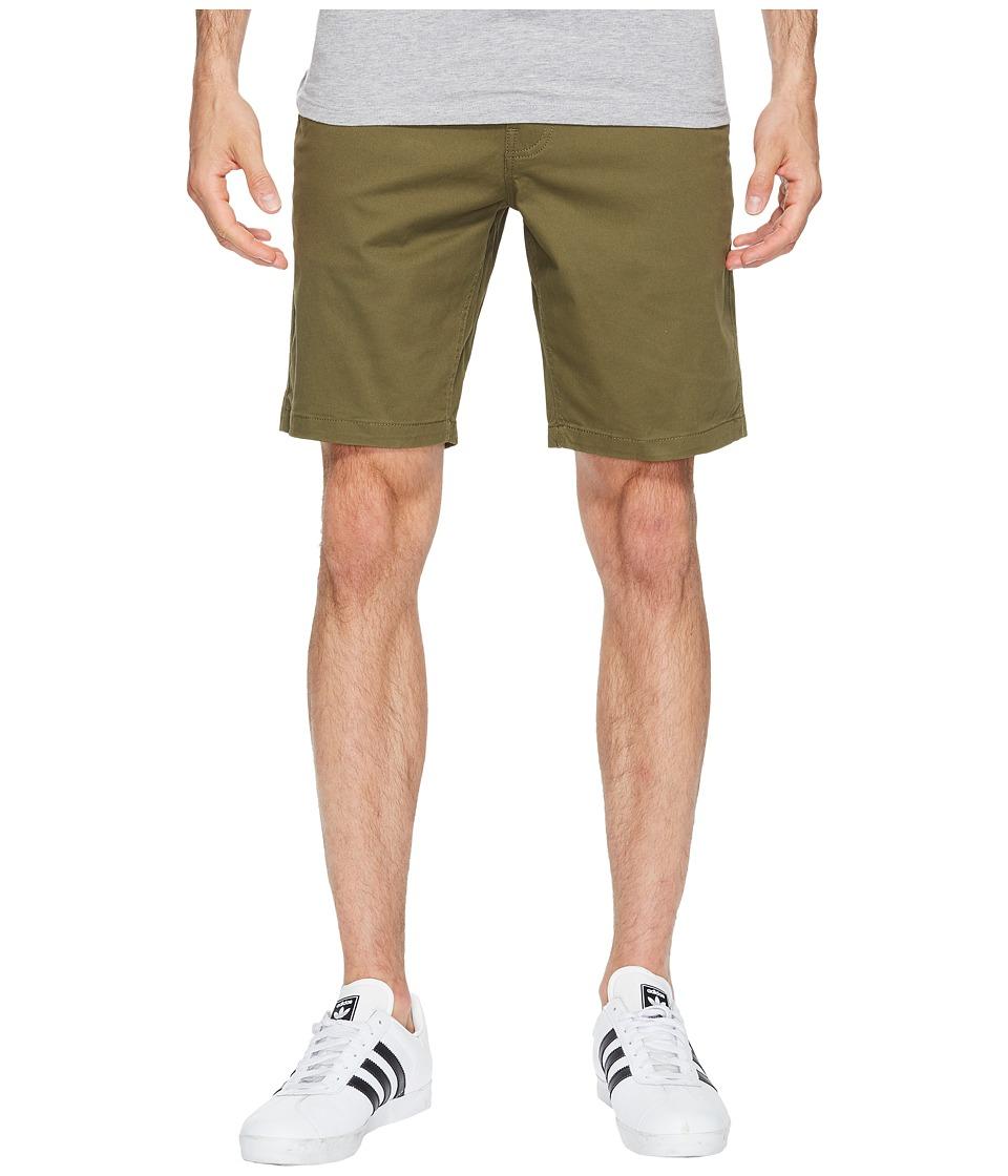 Brixton - Murphy Chino Shorts (Olive) Men's Shorts