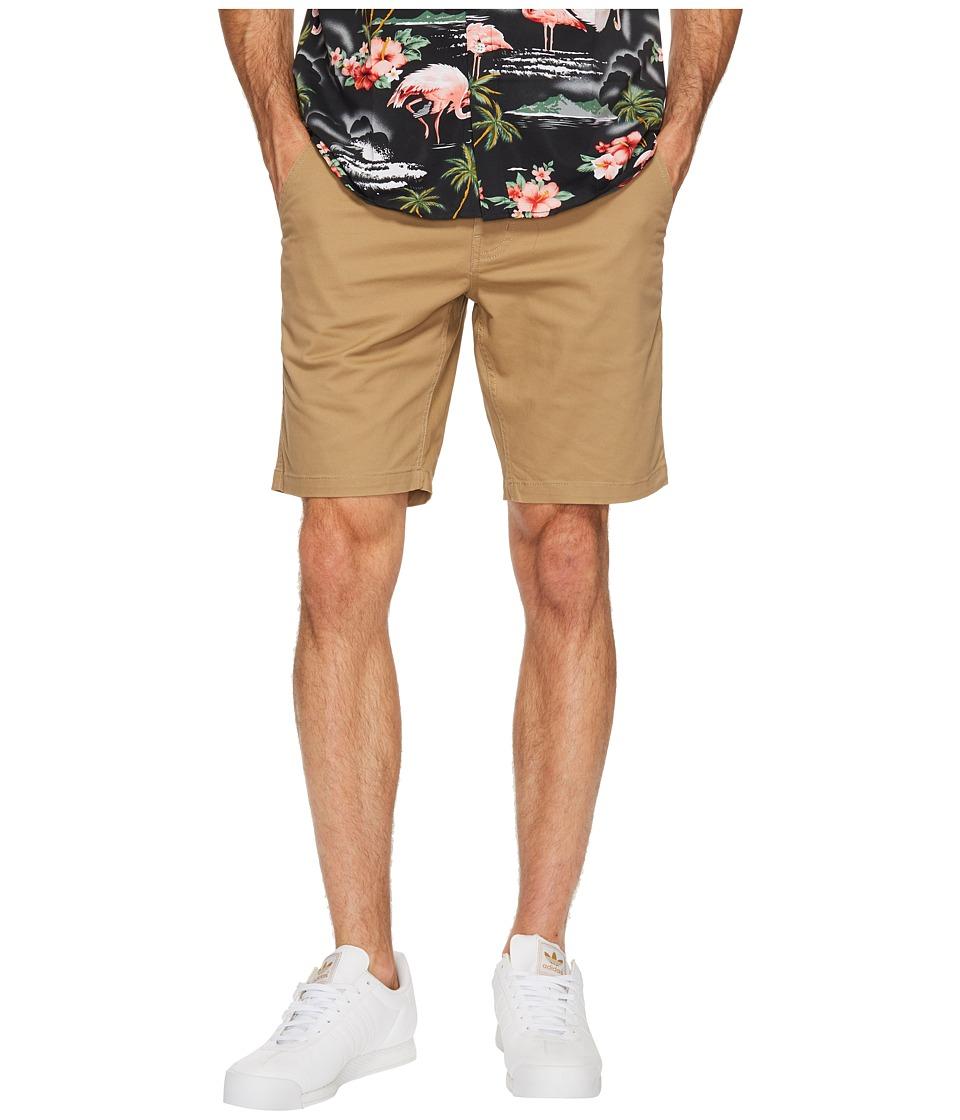 Brixton - Murphy Chino Shorts (Khaki) Men's Shorts