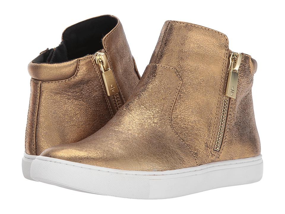 Kenneth Cole New York - Kiera (Gold) Women's Zip Boots