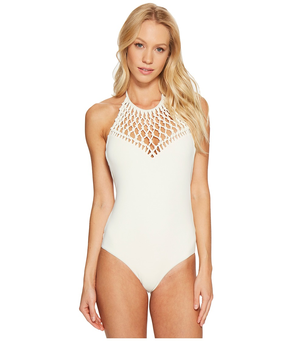 Billabong - It's All About The Detail One-Piece (Seashell) Women's Swimsuits One Piece