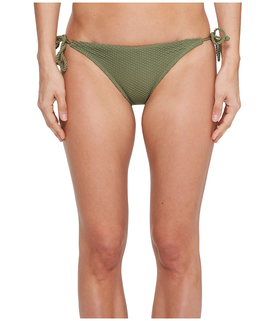 Billabong Meshin With You Tropic Bikini Bottom (Seagrass) Women
