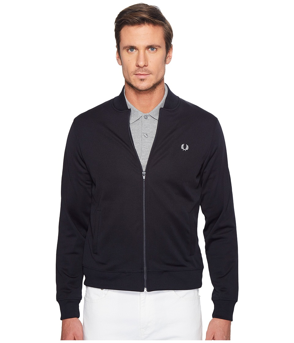 Fred Perry - Bomber Track Jacket (Navy) Men's Coat