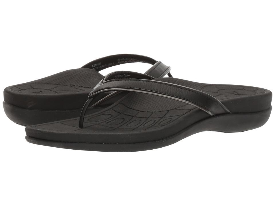 Aetrex - Maddie (Black) Women's Shoes