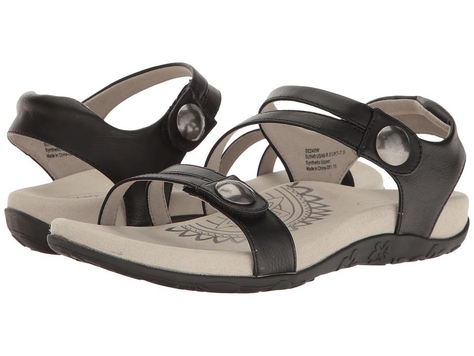 Aetrex - Jean (Black) Women's Shoes