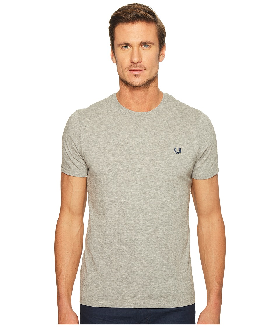Fred Perry - Textured Stripe T-Shirt (Steel Marl) Men's T Shirt