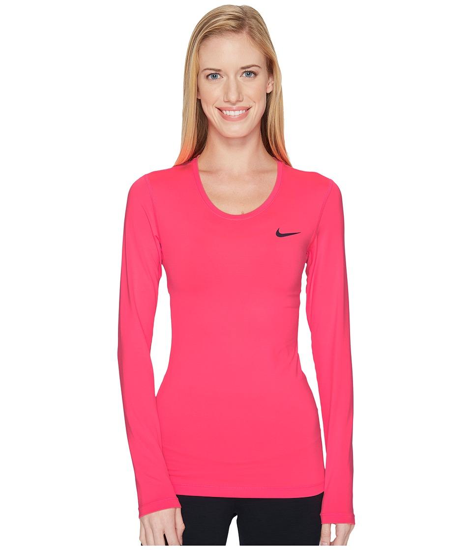 Nike Pro Cool Training Top (Racer Pink/Port Wine) Women