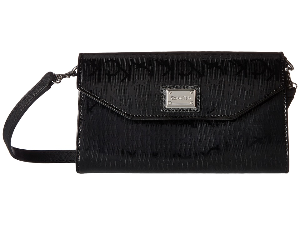 Calvin Klein - Novelty Gifting Crossbody (Black/Silver) Cross Body Handbags