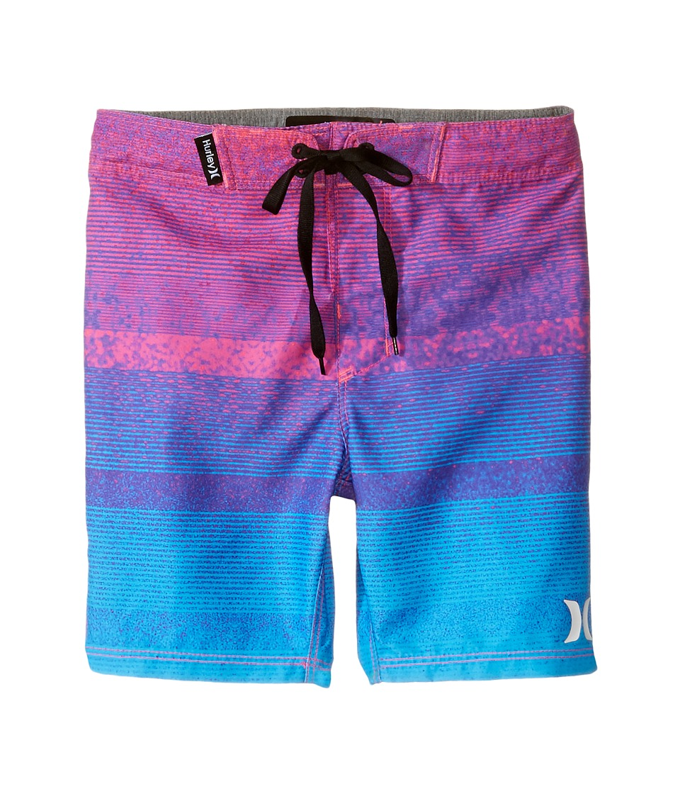 Hurley Kids - Zion Boardshorts (Little Kids) (Pink Flash) Boy's Swimwear