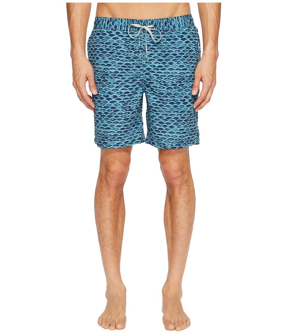 onia - Charles 7 (Scale Stamp) Men's Swimwear