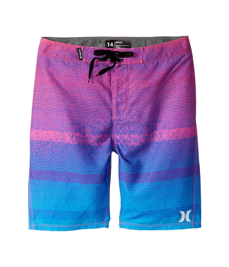Hurley Kids - Zion Boardshorts (Big Kids) (Pink Flash) Boy's Swimwear