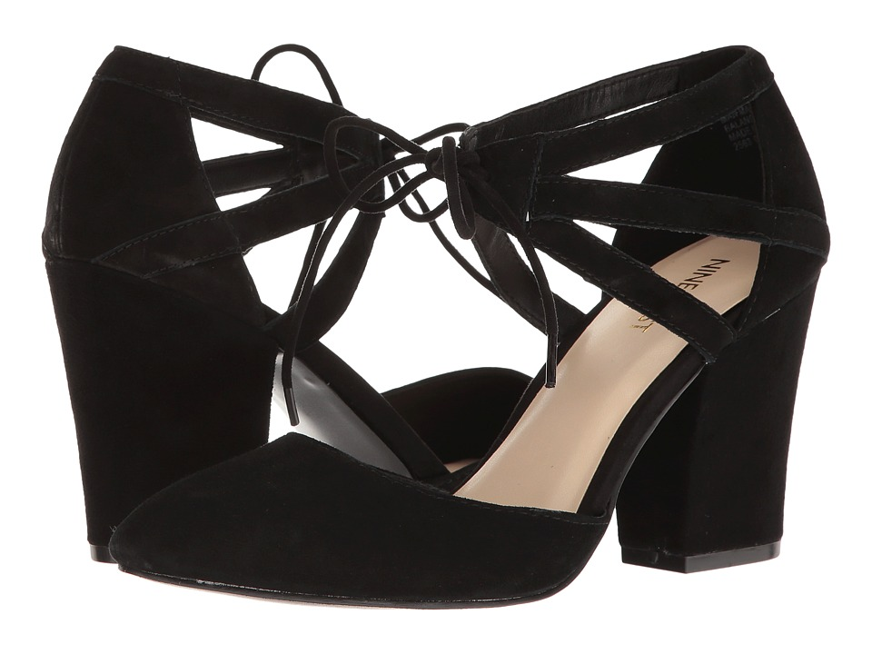 Nine West - Sabiniano (Black Suede) Women's Shoes