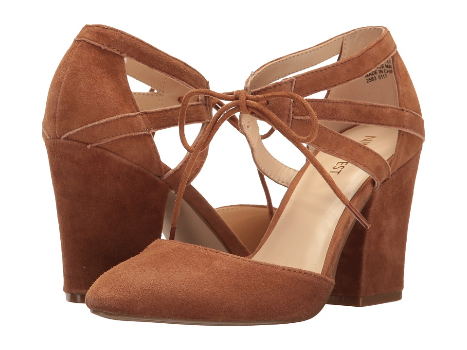 Nine West - Sabiniano (Dark Natural Suede) Women's Shoes