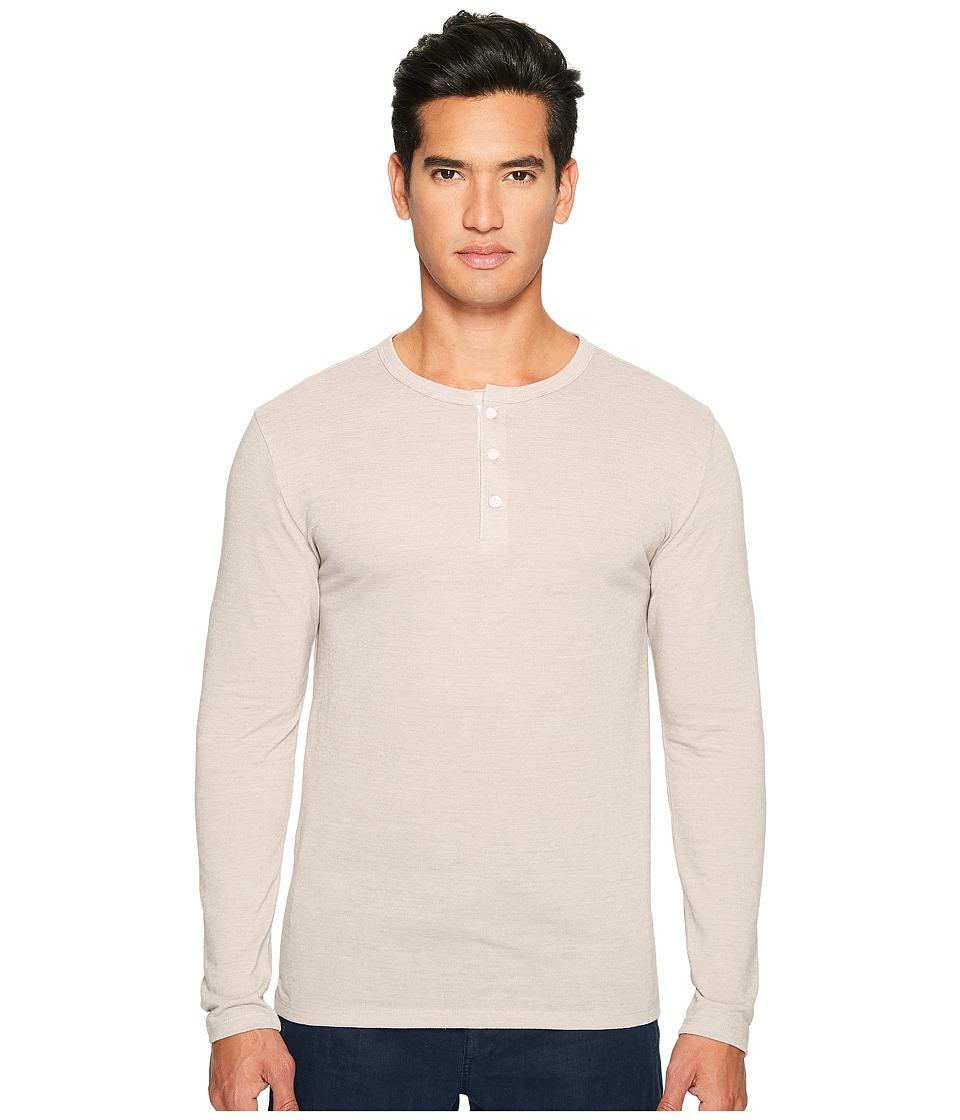 onia - Miles Henley (Dune) Men's Long Sleeve Pullover