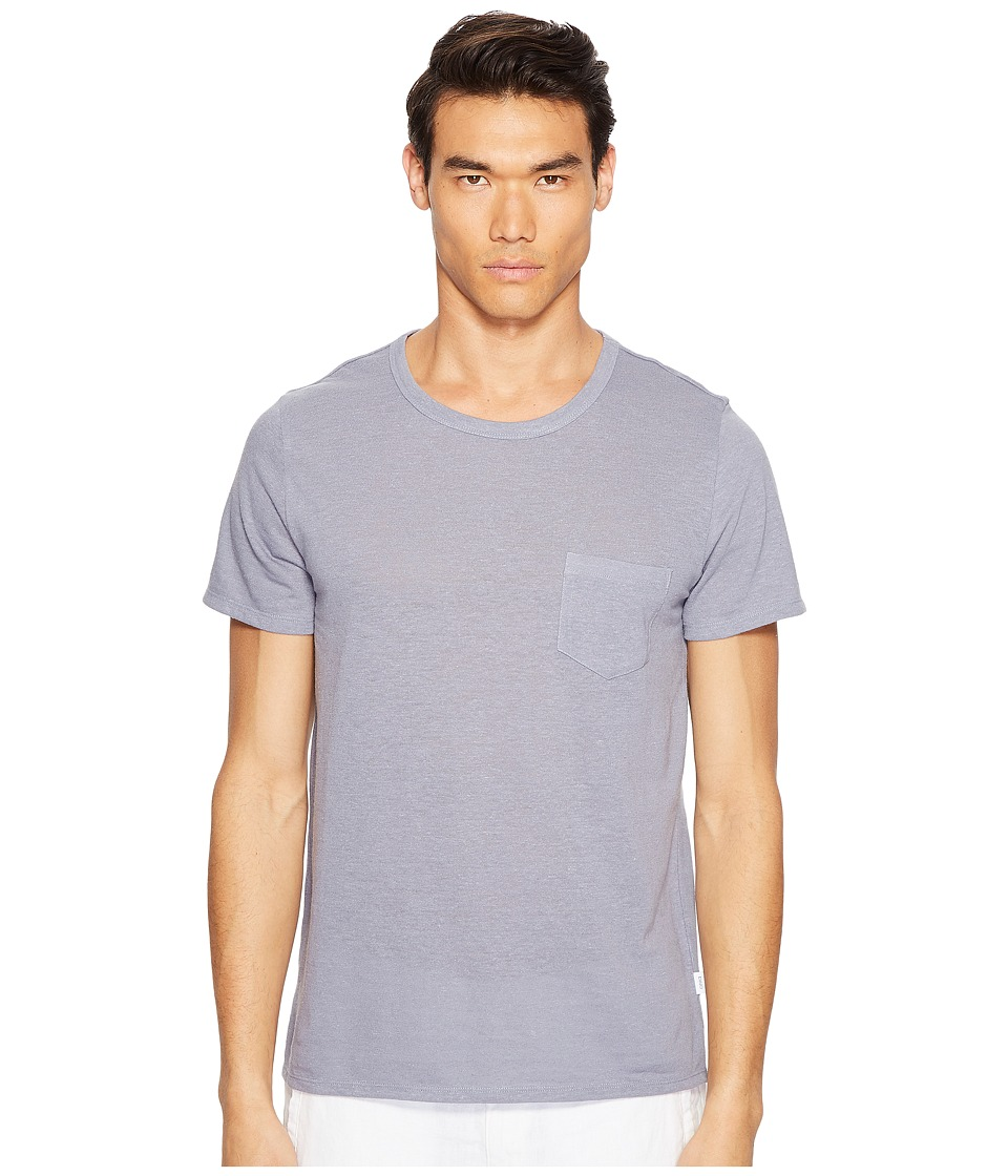 onia - Chad Short Sleeve Pocket Tee (Storm) Men's T Shirt