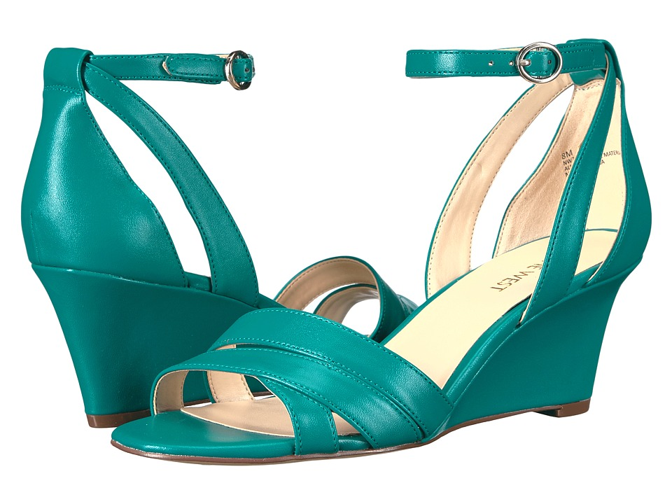 Nine West - Roles (Dark Turquoise Synthetic) Women's Shoes