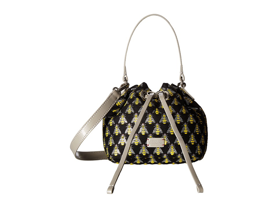 Frances Valentine - Small Ann Jacquard Bucket Bag (Multi/Silver) Handbags