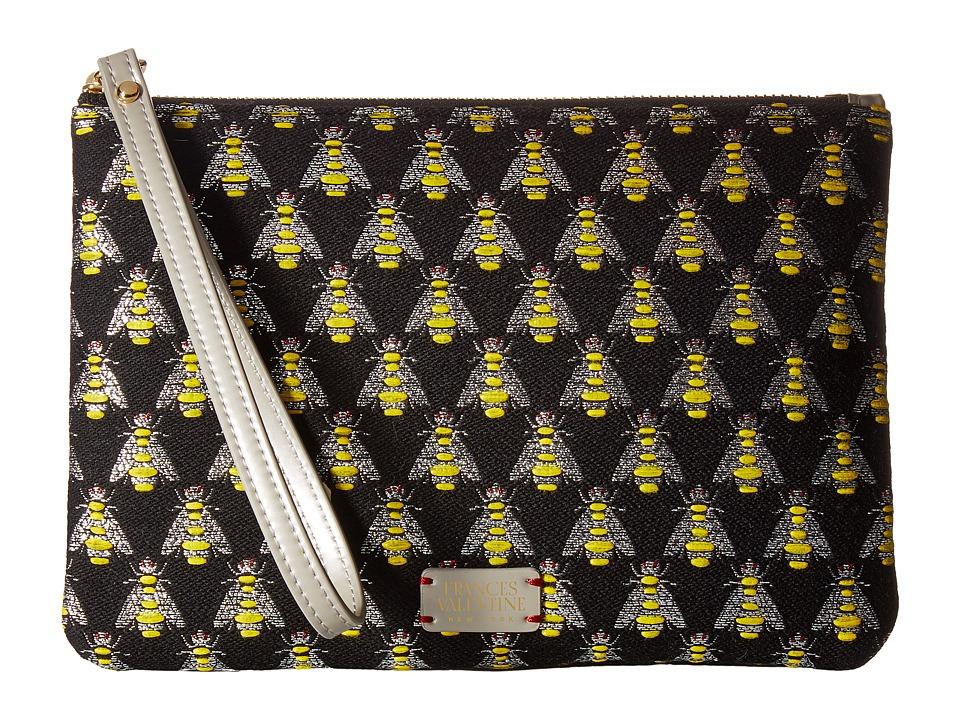 Frances Valentine - Jacquard Wristlet (Multi/Silver) Wristlet Handbags