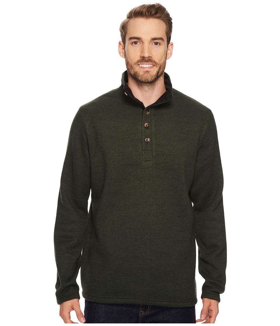 Stetson 1499 Bonded Sweater Knit Pullover (Green) Men