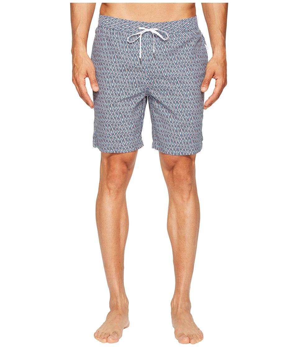 onia - Charles 7 (Woven Geo) Men's Swimwear
