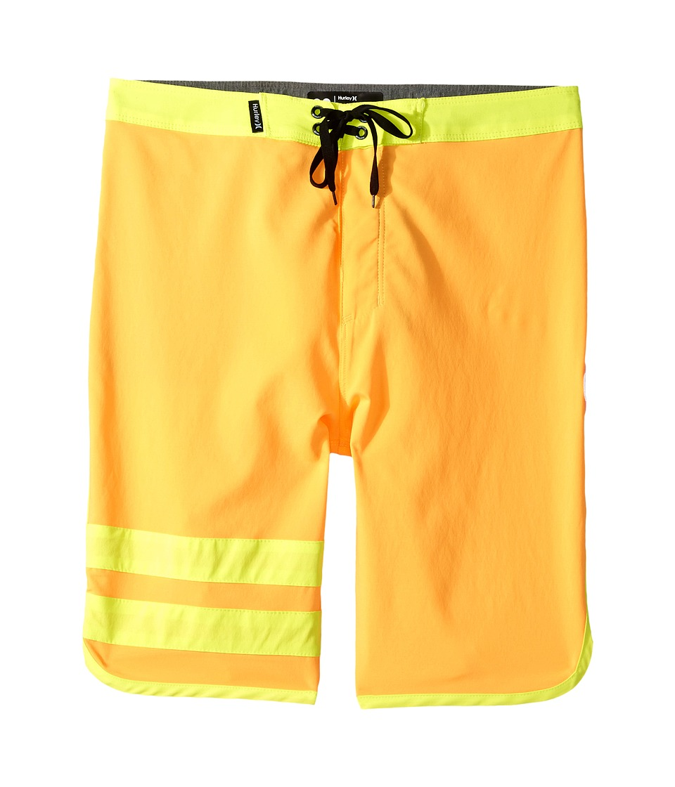 Hurley Kids Print Block Party Boardshorts (Big Kids) (Atomic Mango) Boy
