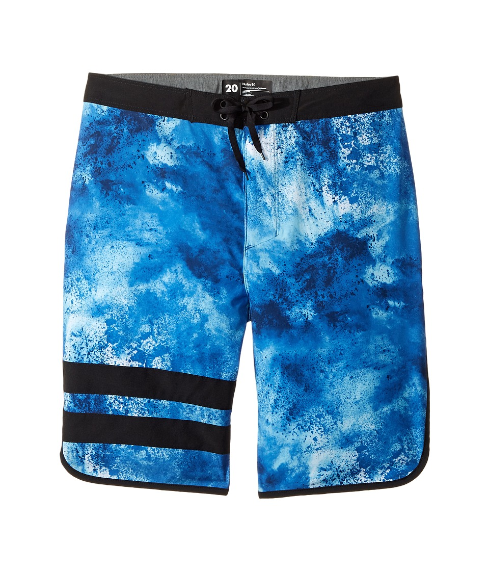 Hurley Kids Phantom 30 Boardshorts (Big Kids) (Chlorine Blue) Boy