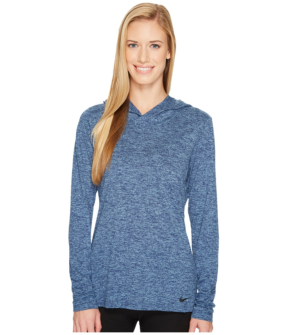 Nike Dry Legend Training Top (Binary Blue/Cerulean/Black) Women