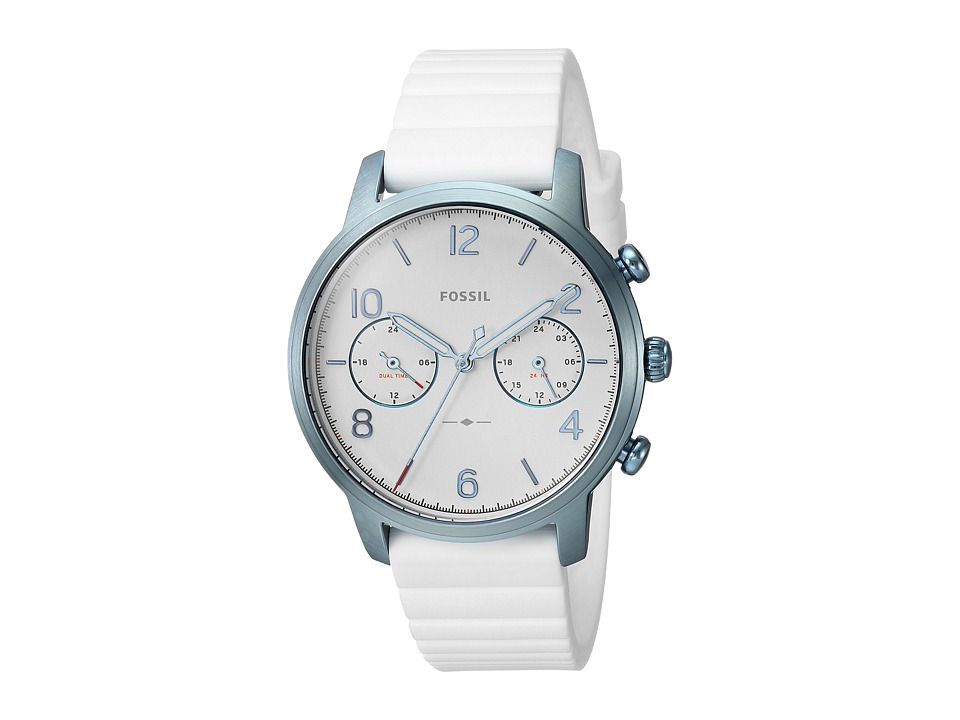 Fossil - Caiden - ES4235 (White) Watches
