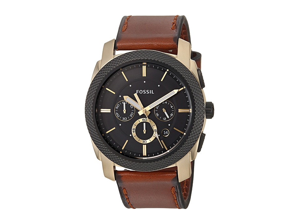 Fossil - Machine Chronograph - FS5322 (Brown) Watches