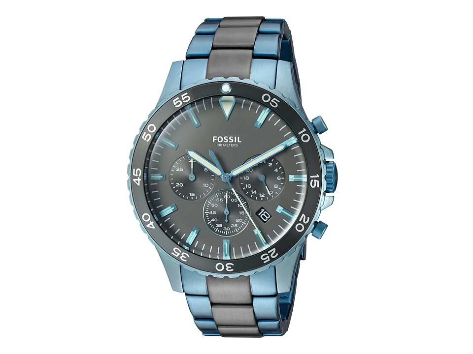 Fossil - Crewmaster Sport - CH3097 (Blue) Watches