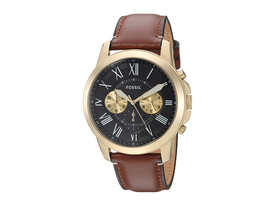 Fossil - Grant - FS5297 (Brown) Watches