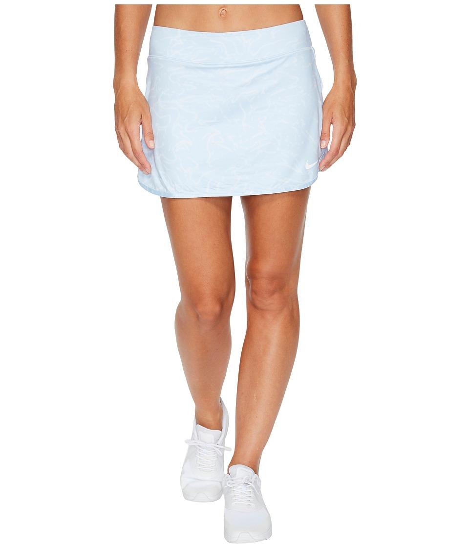 Nike Court Pure Tennis Skirt (Blue Tint/Hydrogen Blue/White) Women