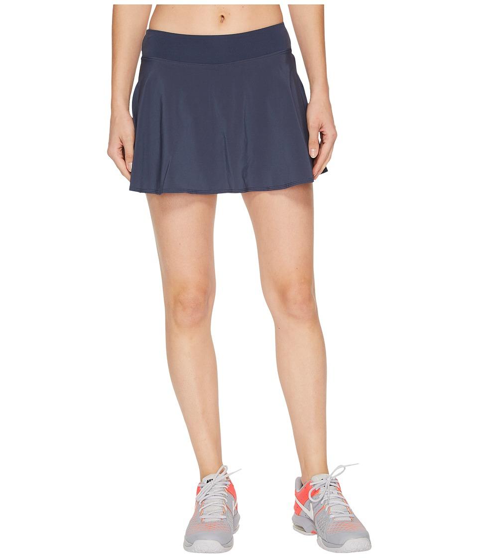 Nike Nike Court Flex Pure Tennis Skirt (Thunder Blue/White) Women