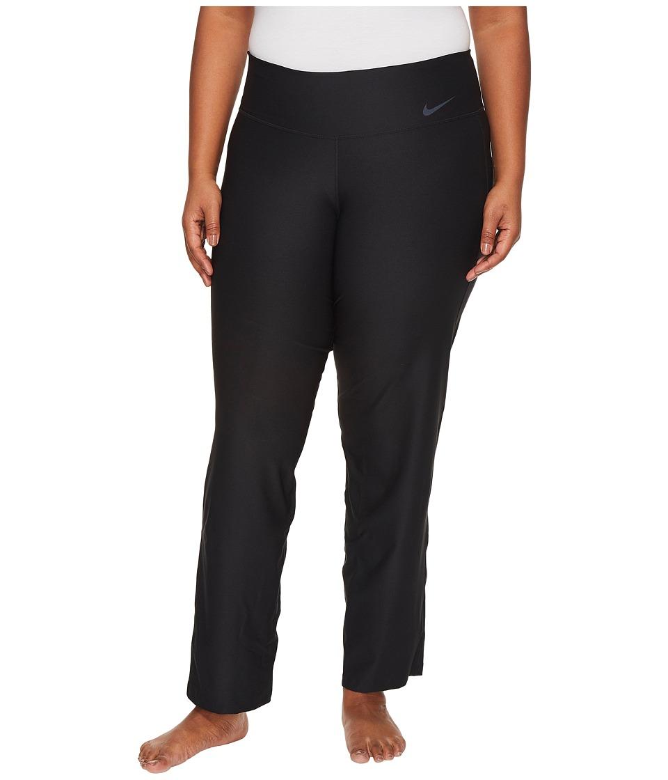 Nike Power Training Pant (Size 1X-3X) (Black/Cool Grey) Women