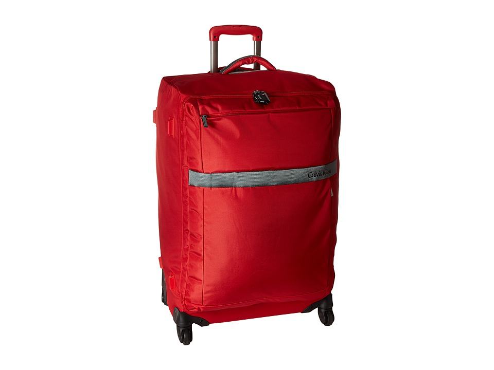 Calvin Klein - Ikat Spinner 29 Upright Suitcase (Red) Luggage