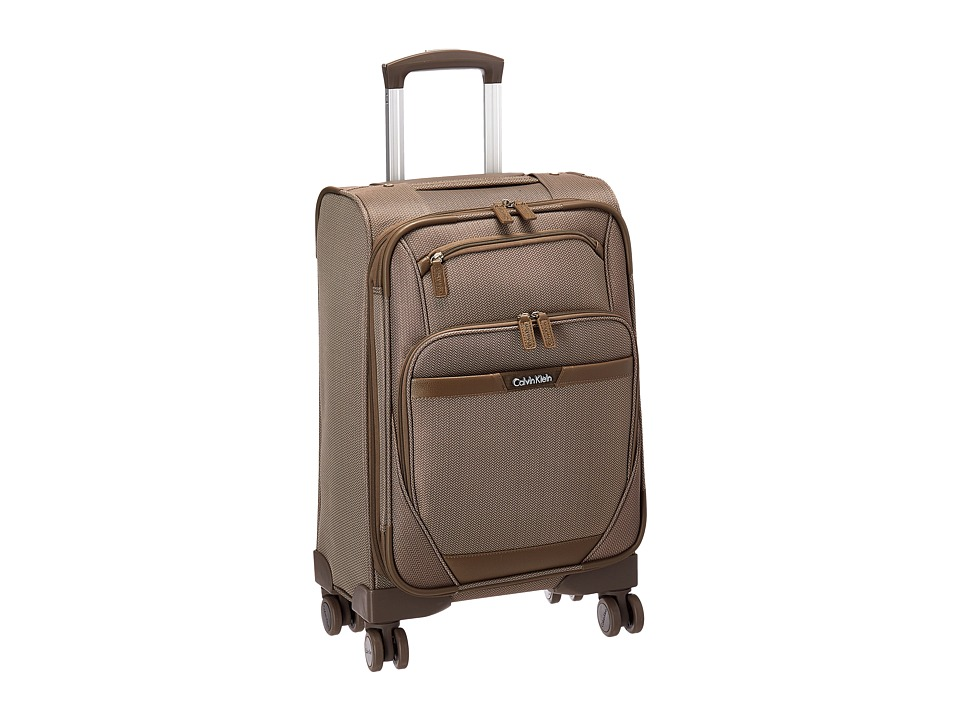 Calvin Klein - Whitehall 21 Upright Suitcase (Khaki) Luggage