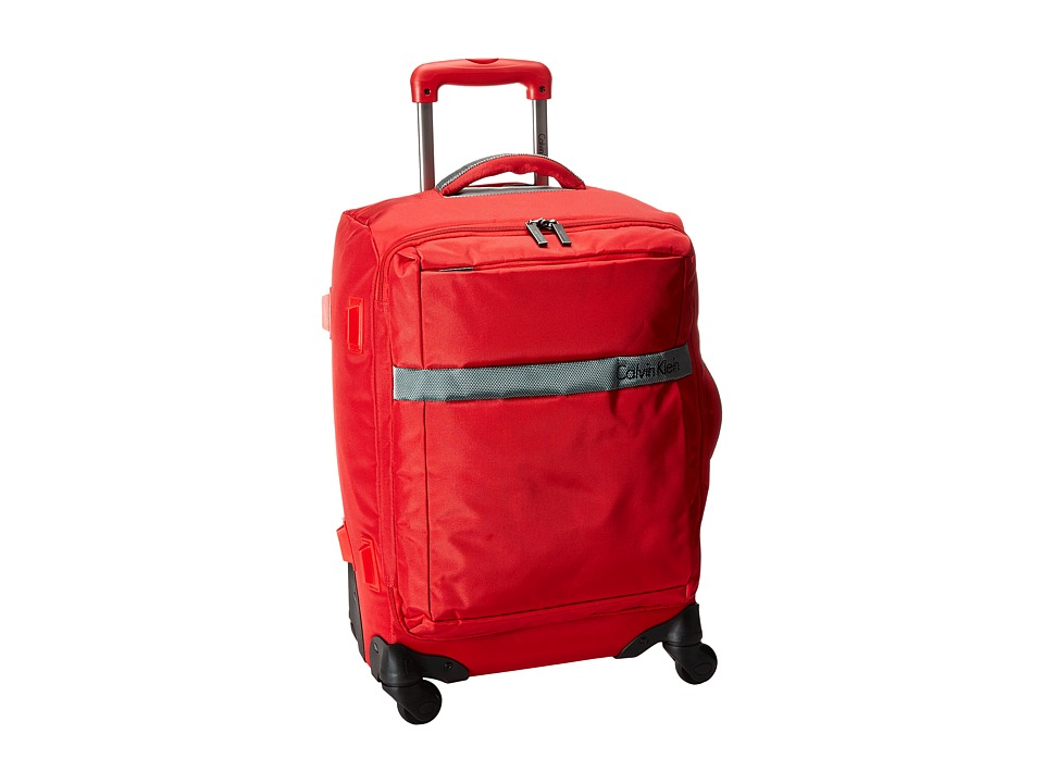 Calvin Klein - Ikat Spinner 21 Upright Suitcase (Red) Luggage
