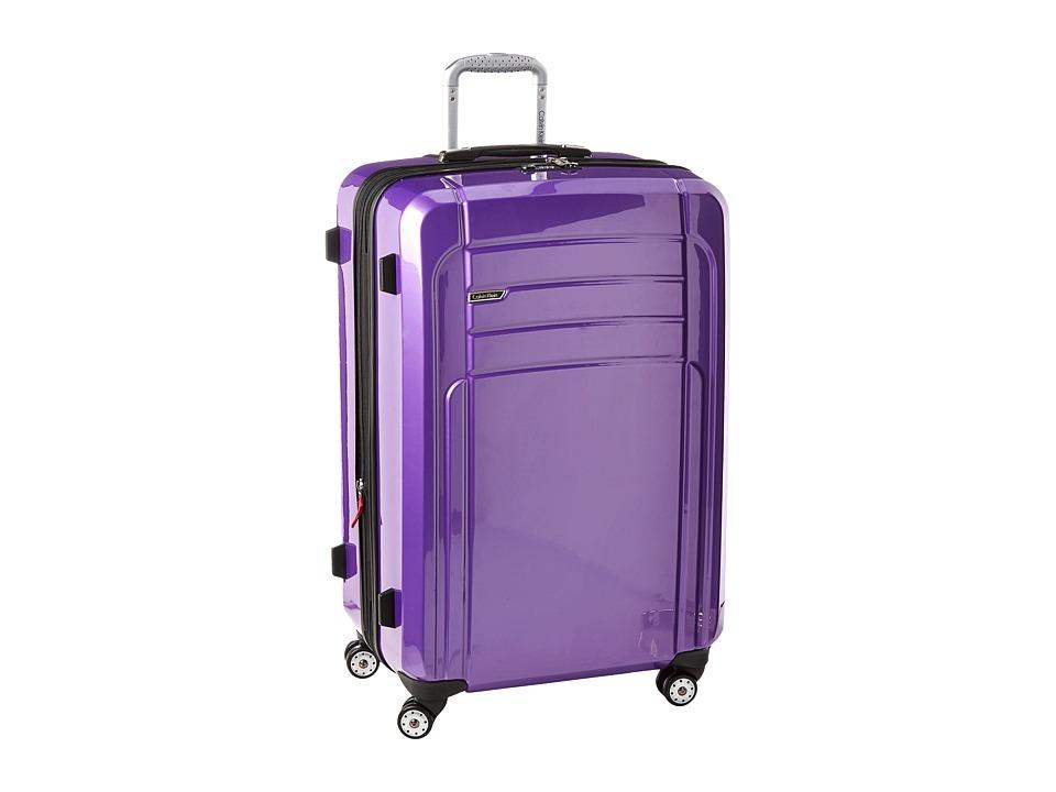Calvin Klein - Rome 29 Upright Suitcase (Plum) Luggage