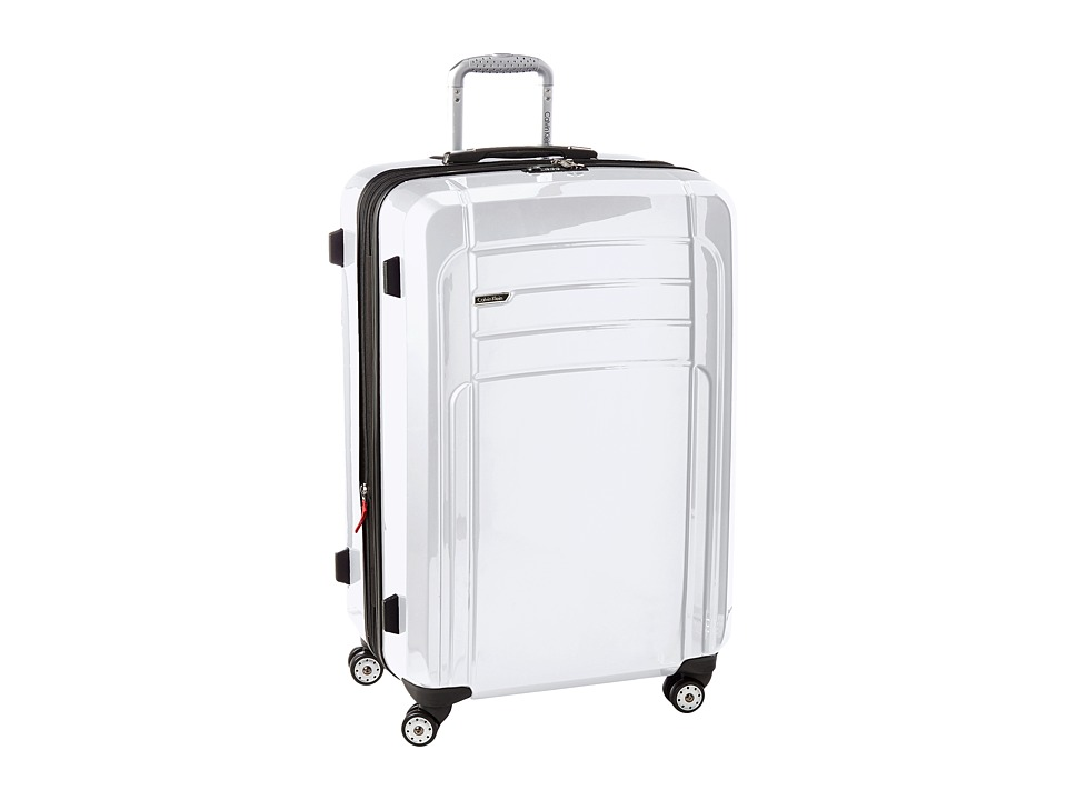 Calvin Klein - Rome 29 Upright Suitcase (White) Luggage