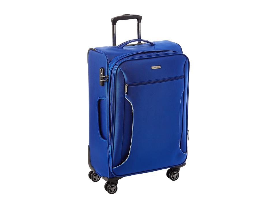 Calvin Klein Warwick 25 Upright Suitcase (Blue) Luggage