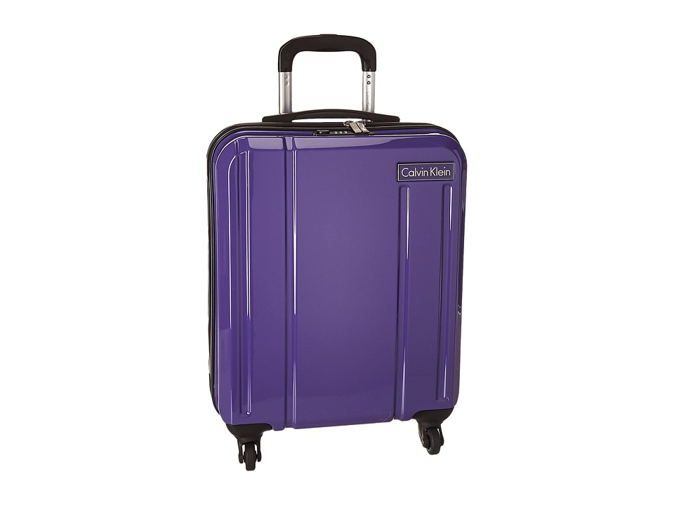 Calvin Klein - Beacon 20 Upright Suitcase (Blue) Luggage