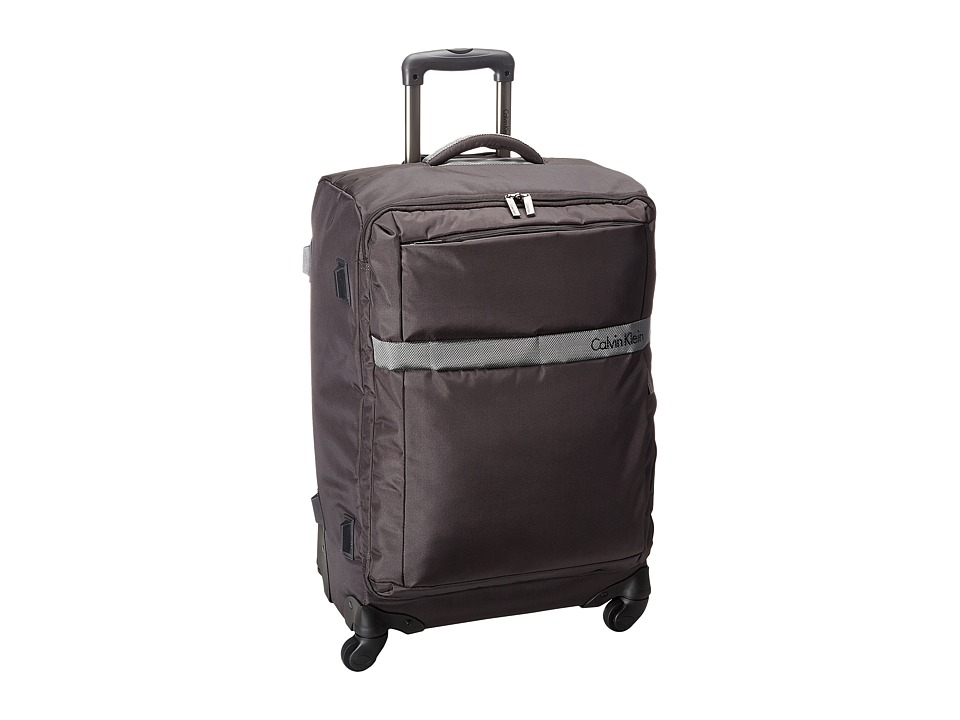 Calvin Klein - Ikat Spinner 25 Upright Suitcase (Anthracite) Luggage