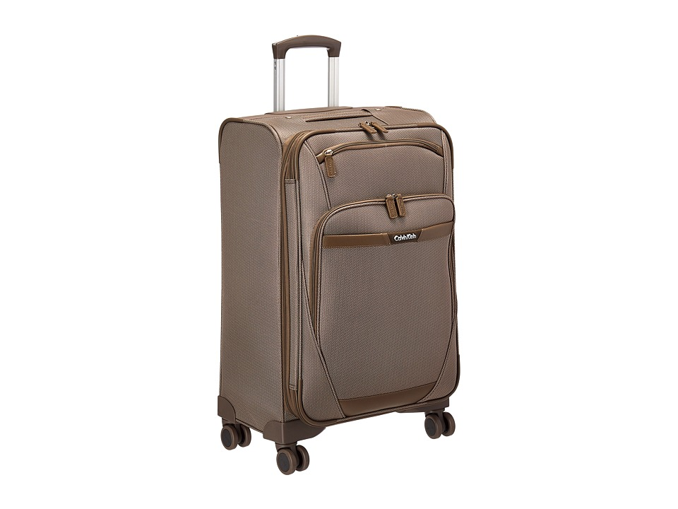 Calvin Klein - Whitehall 24 Upright Suitcase (Khaki) Luggage