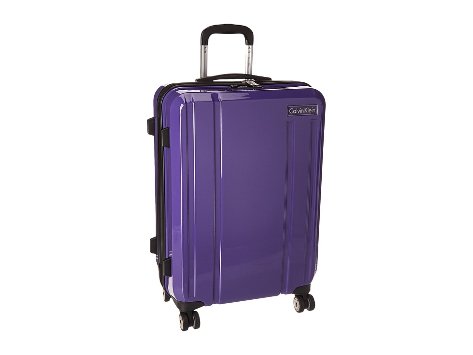 Calvin Klein - Beacon 24 Upright Suitcase (Blue) Luggage
